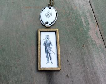 Distinguished Dog Necklace/Victorian/Edwardian