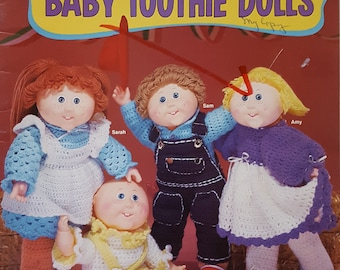 Easy to Crochet Baby Tootie Dolls Instruction Booklet