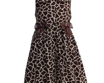 4371 Brownie Giraffe  Dresslotte