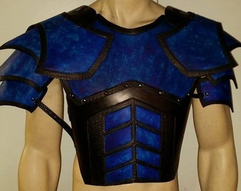 Juggernaut Leather Armor Chest, Back, and Shoulders