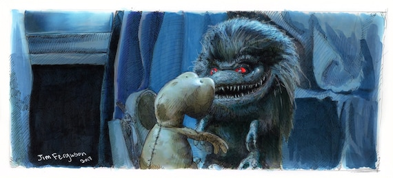 Critters - Who Are You? Poster Print