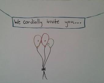 We Cordially Invite You
