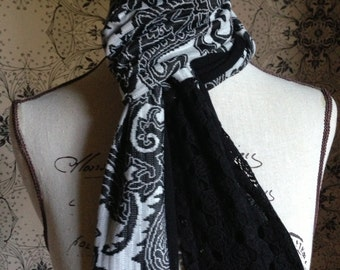 "Ladies Multi-Colour Scarf. This Design is Called the ""Marg"""