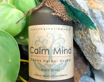 4 oz Calm mind, dream bliss oxymel