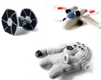 Star Wars Ships Crochet Amigurumi Patterns
