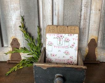 Wedding Guest Book, Guest Book Alternative, Wedding Address Box, Address Cards, Address Book