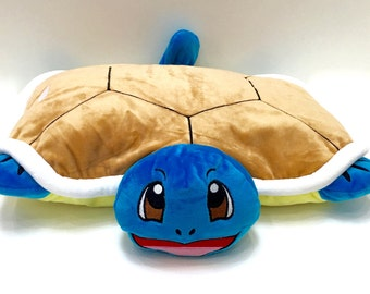 Squirtle Handmade Plush Pokemon Pillow Pet