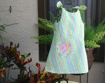 Baby sundress Size 1T Ready to ship  Cool easy care fabric