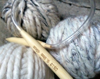 Circular Knitting Needles in Bamboo Many Sizes Available