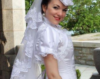 Rosa Mia Bridal Wedding Shrug- Ready to Ship