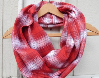 Christmas Scarf Ready to Ship Red Plaid Scarf Ladies Plaid Scarf Girls Plaid Scarf Ladies Plaid Flannel Scarf Girls Plaid Flannel Scarf