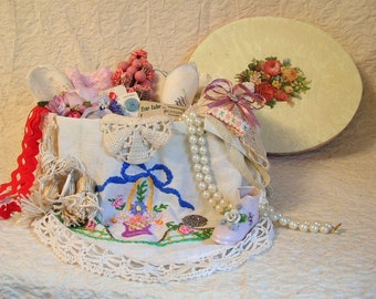 Treasure Box With Romantic Style Crafting and Decor Items
