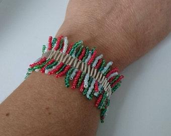 Winter/Christmas Bracelet