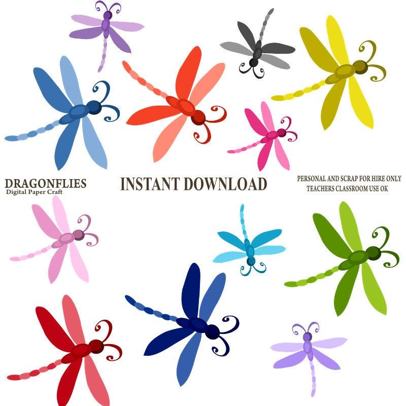 dragonfly clipart dragonflies clipart instant download dragon fly rh etsystudio com