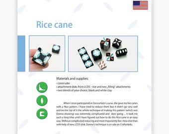 Rice cane - Czextruder guide by Lucy [EN]