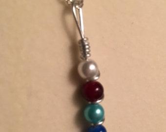 Four-stone Drop Necklace