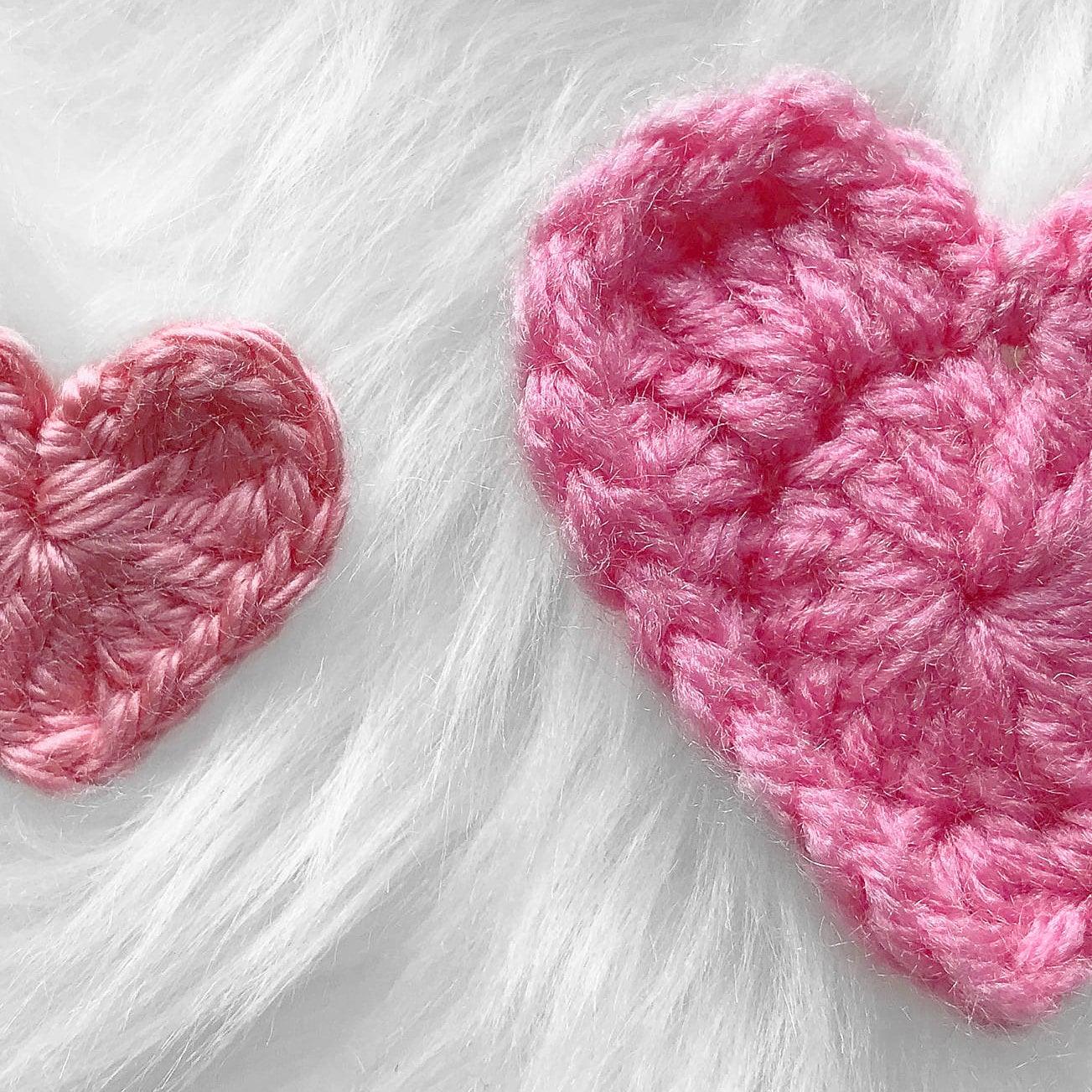 crochet heart pattern, crochet pattern, crochet heart, valentines ...