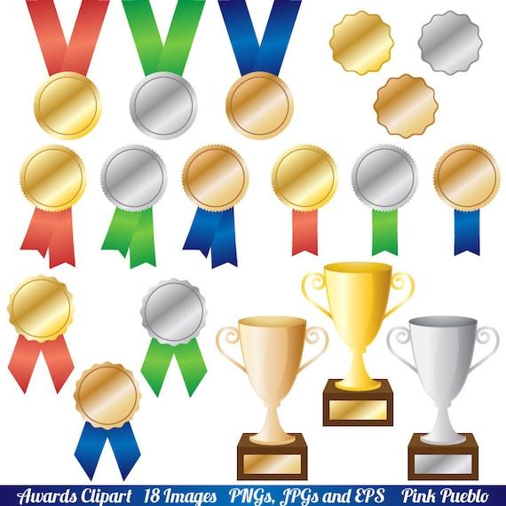 Awards Clipart Clip Art Trophy and Ribbon Clipart Clip Art