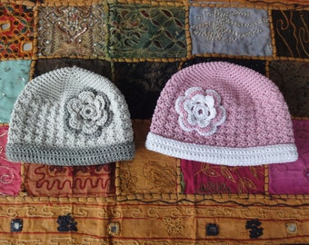PATTERN - Baby and toddler hat crochet pattern