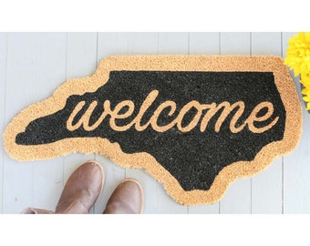 North Carolina Welcome Mat