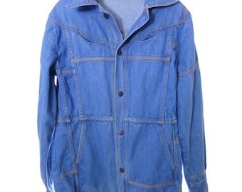 Coors Light Varsity Jean Jacket 40 Sterling Marlin Size 2XL JnmZ7Al2go