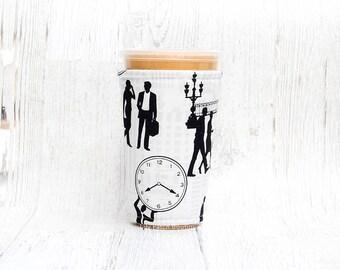 Rush Hour Tasse gemütlich, Kaffee gemütlich, Geeiste Kaffee gemütlich, Tasse Ärmel, Kaffee gemütlich, Kaffee-Manschette