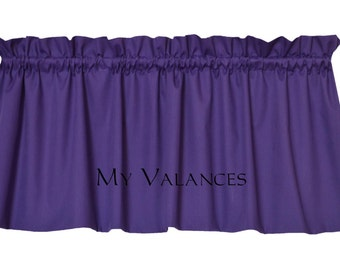 purple window curtains for floral windows tier and white valances solid valance kitchen lavender