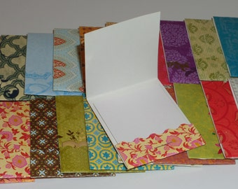 Set of 25 Taj Majal Matchbook Notepads, party favors, thank you gifts, mini note pad