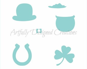 St Patricks Day Stencil by Artfully Designed Creations