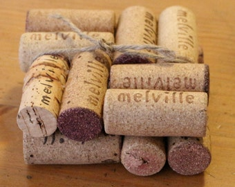 Cork Coasters, Coaster, Cork, Cork Art, drinking glass, Reduce, Reuse, Recycle, Wine, Art By Carole, creative, Art, original art, corks