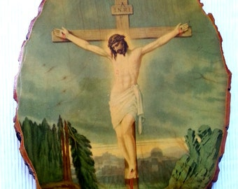 Jesus plaque | Etsy