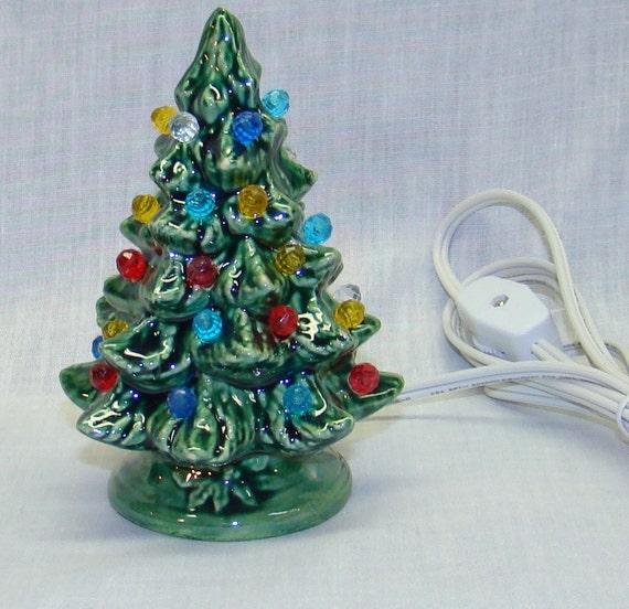 Handmade Ceramic Christmas Tree 5 Inch High