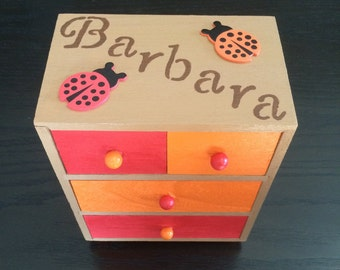 Kids jewelry box Etsy