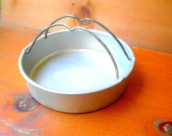 Vintage metal pan handles