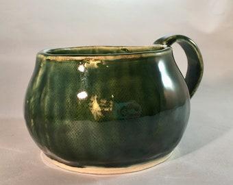 Green Metallic Mug