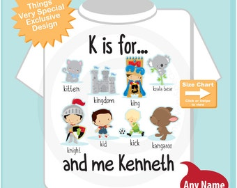 K is for knight etsy boys personalized k altavistaventures Image collections