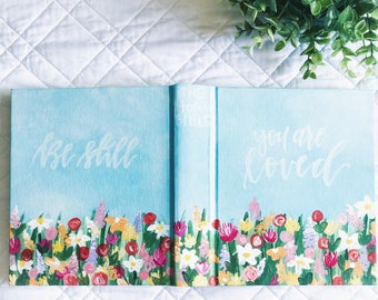 Hand Painted Bible: Thrive Theme