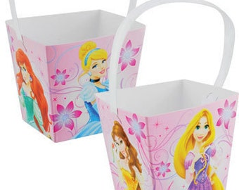 Princess Sparkle Mini Snack Pails  6ct