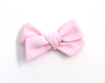 Light Pink Large Knotted Bow