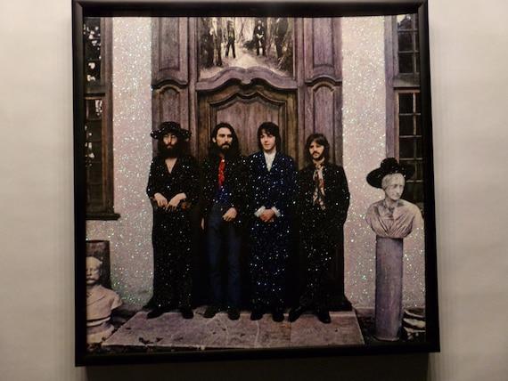 Glittered Record Album - The Beatles - No Title
