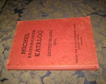 Michel Briefmarken Katalog Deutschland 1955