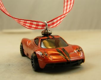 FREE SHIPPING   Anytime Ornament   Bronze   Pagani Huayra   Birthday    Fathers Day