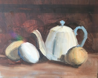 Teapot With Eggs