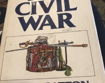 The Civil War by Bruce Caton  1988 Edition Hardback Dust Jacket