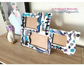 Paper- Quilling Photo Frame