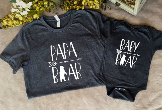 137ac8b75 Papa Bear, Mama Bear and Baby Bear T-Shirts and Other Gifts