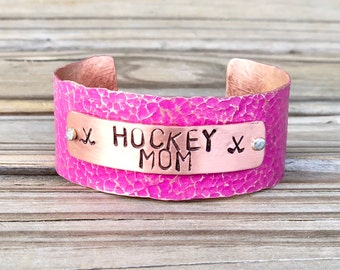 Gift For Hockey Mom, Hockey Mom Bracelet, Hockey Mom Jewelry, Hockey Mom Gift Ideas, Hockey Mom Mothers Day, Football, Lacrosse, Baseball