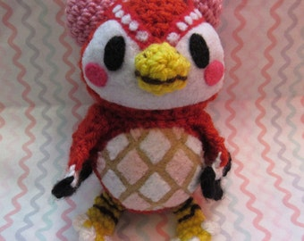 Amigurumi Celeste - Animal Crossing