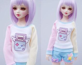 Slim MSD Minifee or SD BJD Sweater - Game Over