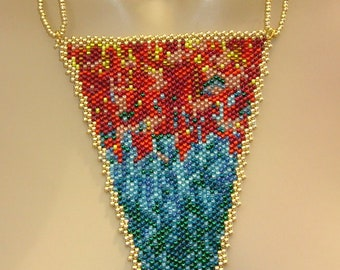 33 Color match pendant with chain